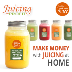 Work from Home Juicing